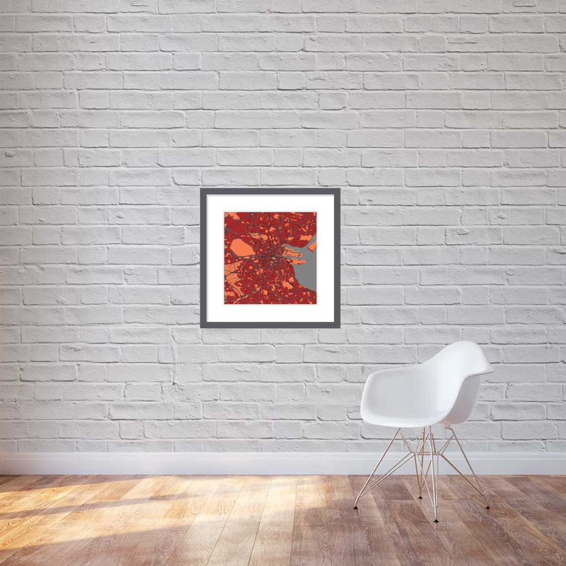 Matt print 60cmx60cm Dublin Stylish Brick