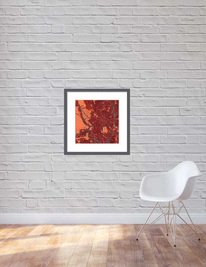 Matt print 60cmx60cm Madrid  Stylish Brick