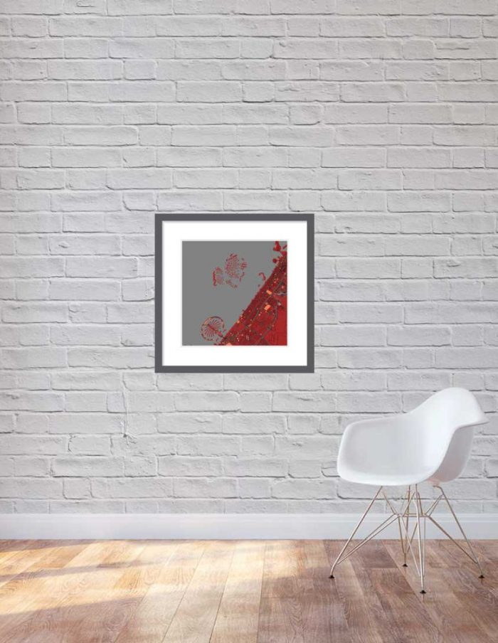 Matt print 60cmx60cm Dubai Stylish Brick