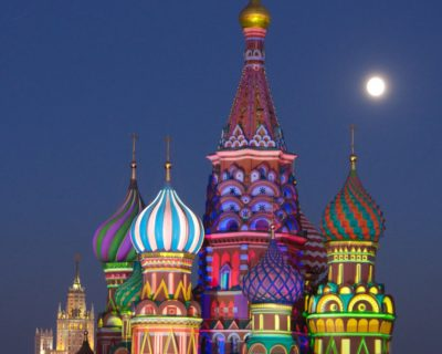 St. Basil's Cathedral on Red Square, Moscow