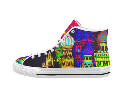 Moscow Kremlin High Top Canvas Men's Shoes