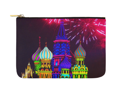 "Moscow Kremlin Carry-All Pouch 12.5""x 8.5"""