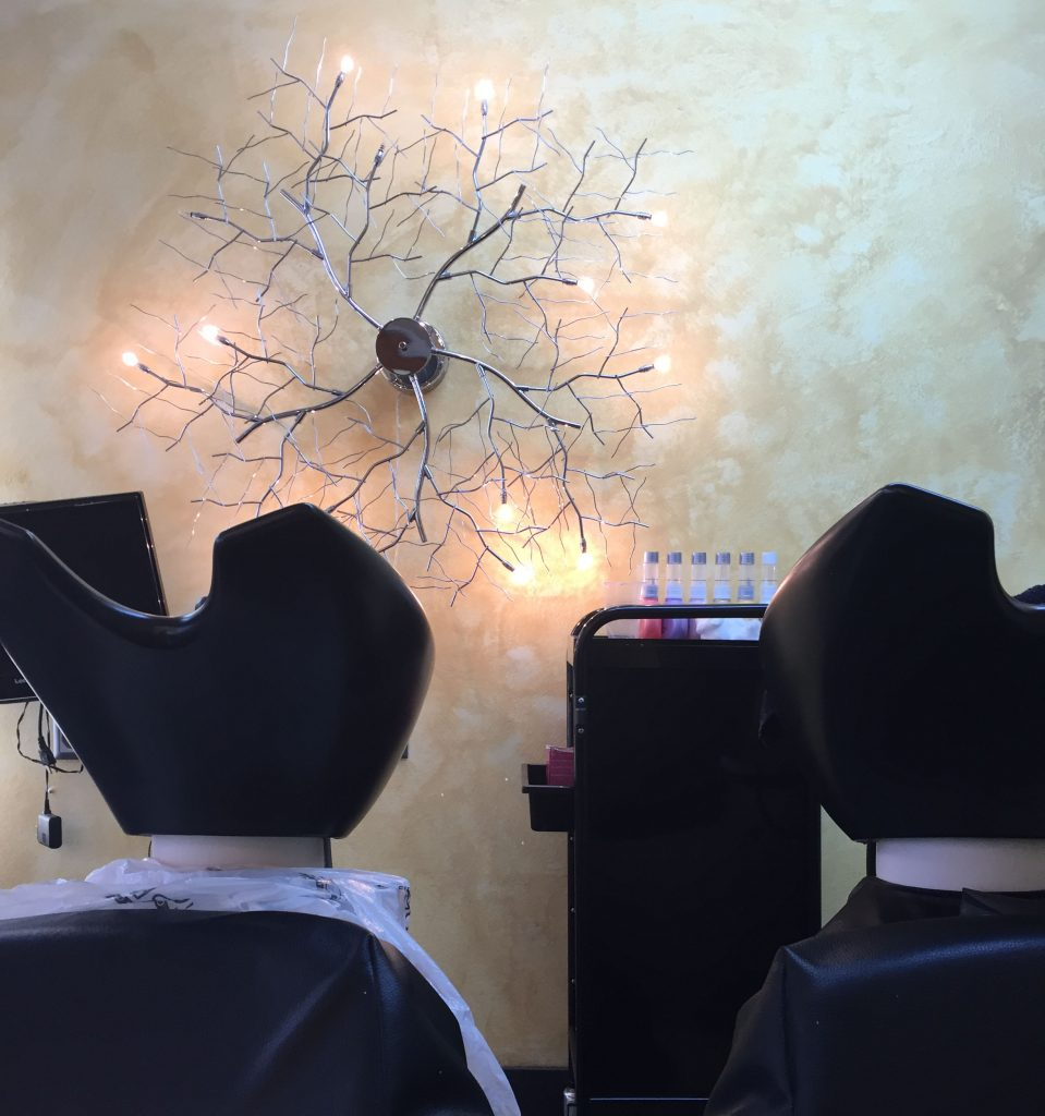 Beammehome made a collaboration with beauty salon in Villeneuve